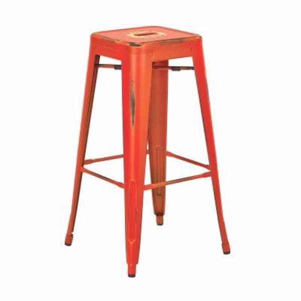 Picture of Bristow Ant Orange Barstool 2 Pack *D