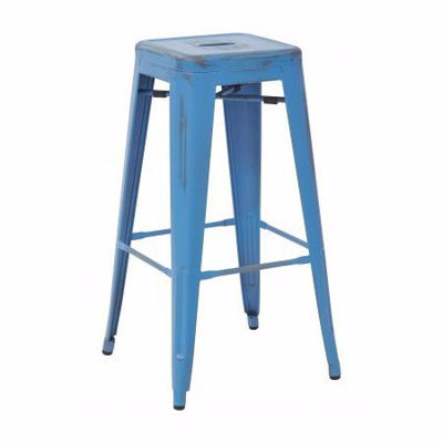 Picture of Bristow Ant Royalblue Barstool 2 Pack *D