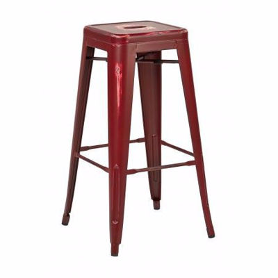 Picture of Bristow Ant Red Barstool 2 Pack *D