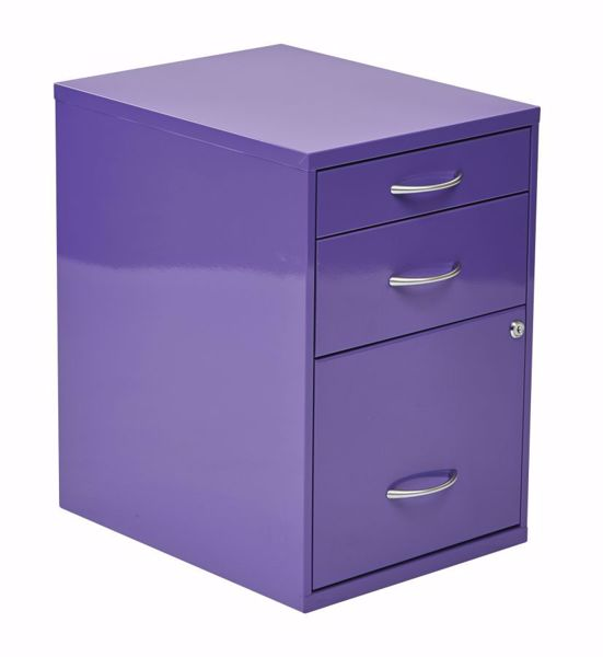 Picture of Purple Storage File Cabinet *D