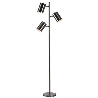 Picture of Beech Chrome Tree Lamp