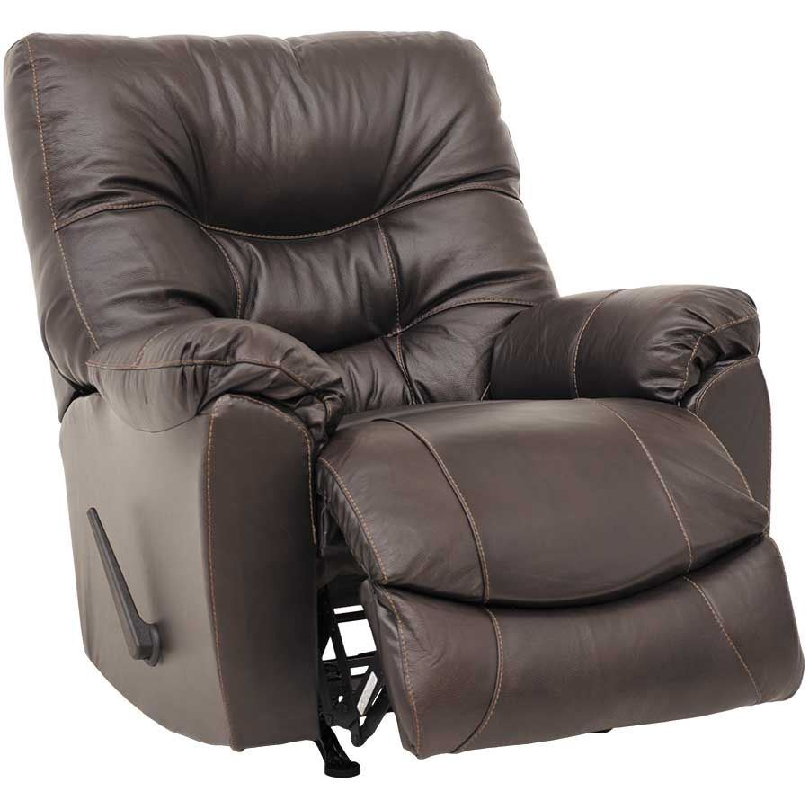 Picture of Trilogy Leather Rocker Recliner