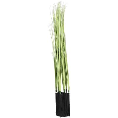 Picture of Plastic Grass Decoration in Green