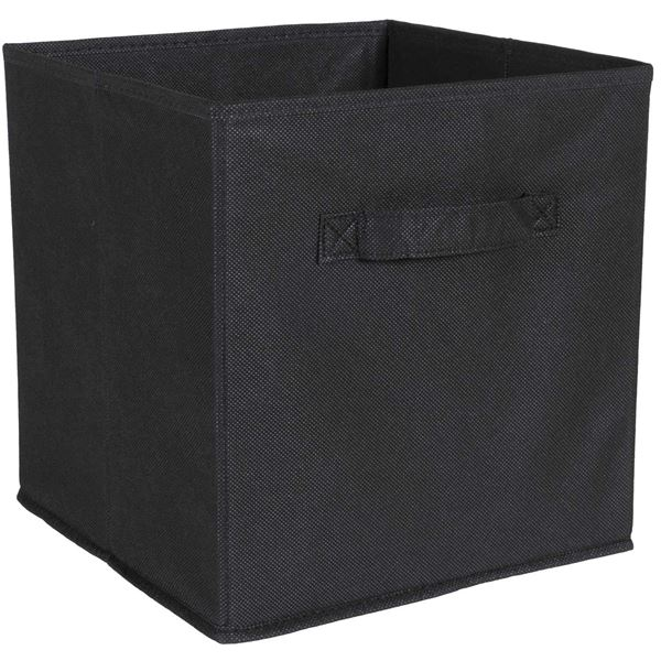 Picture of SystemBuild Black Fabric Bin