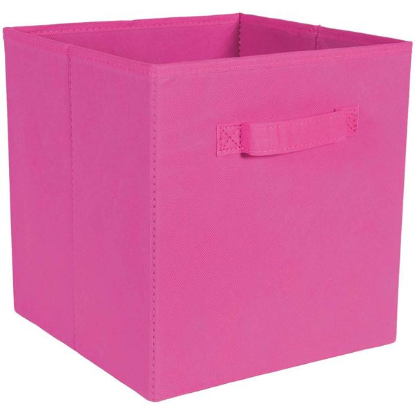 Picture of SystemBuild Pink Fabric Bin