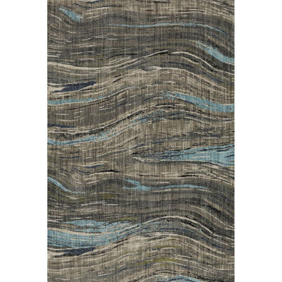 Picture of Amos Lagoon Waves 8x11 Rug