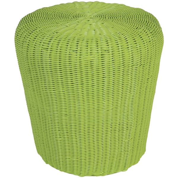Picture of Rattan Green Stool