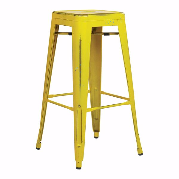 Picture of Bristow Ant Yellow Barstool 2 Pack *D