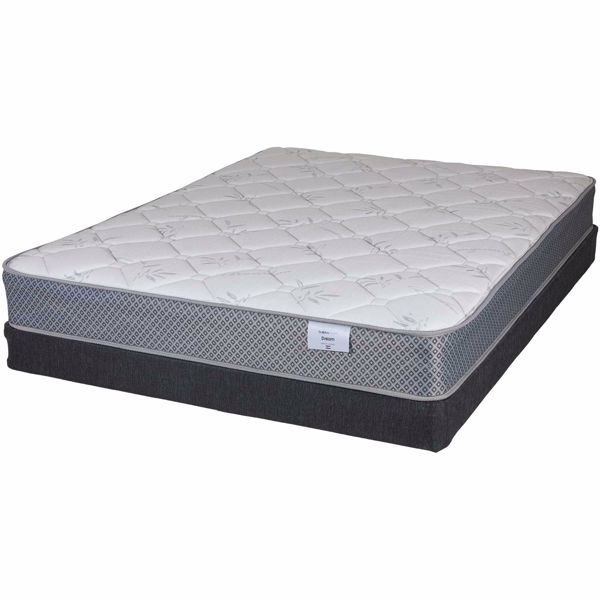 Picture of Dream with Queen Low Profile Box Spring
