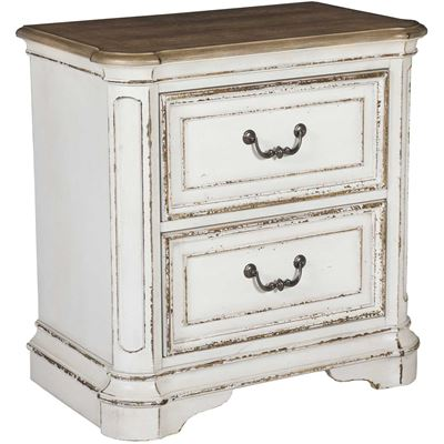Picture of Magnolia Manor 2 Drawer Nightstand
