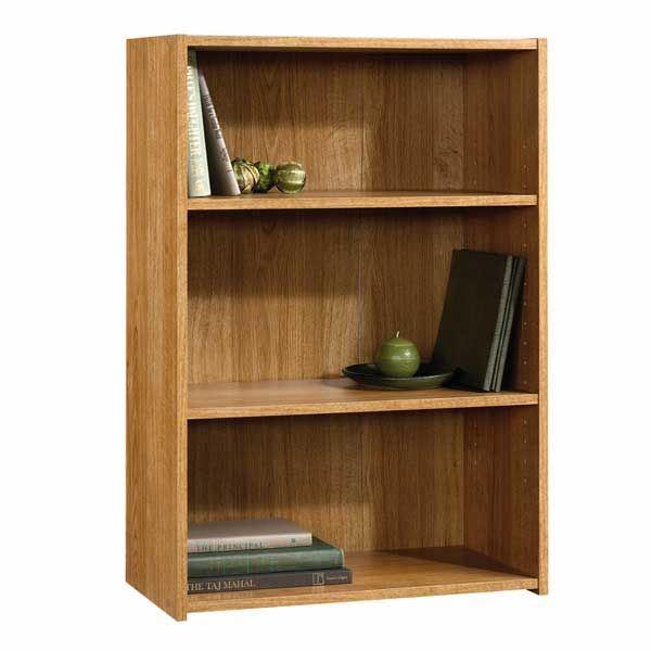 Picture of Beginnings 3-Shelf Bookcase Highland Oak * D
