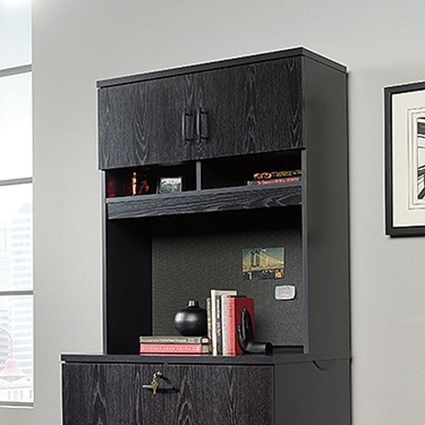 Picture of Via Lateral File Hutch Bourbon Oak * D