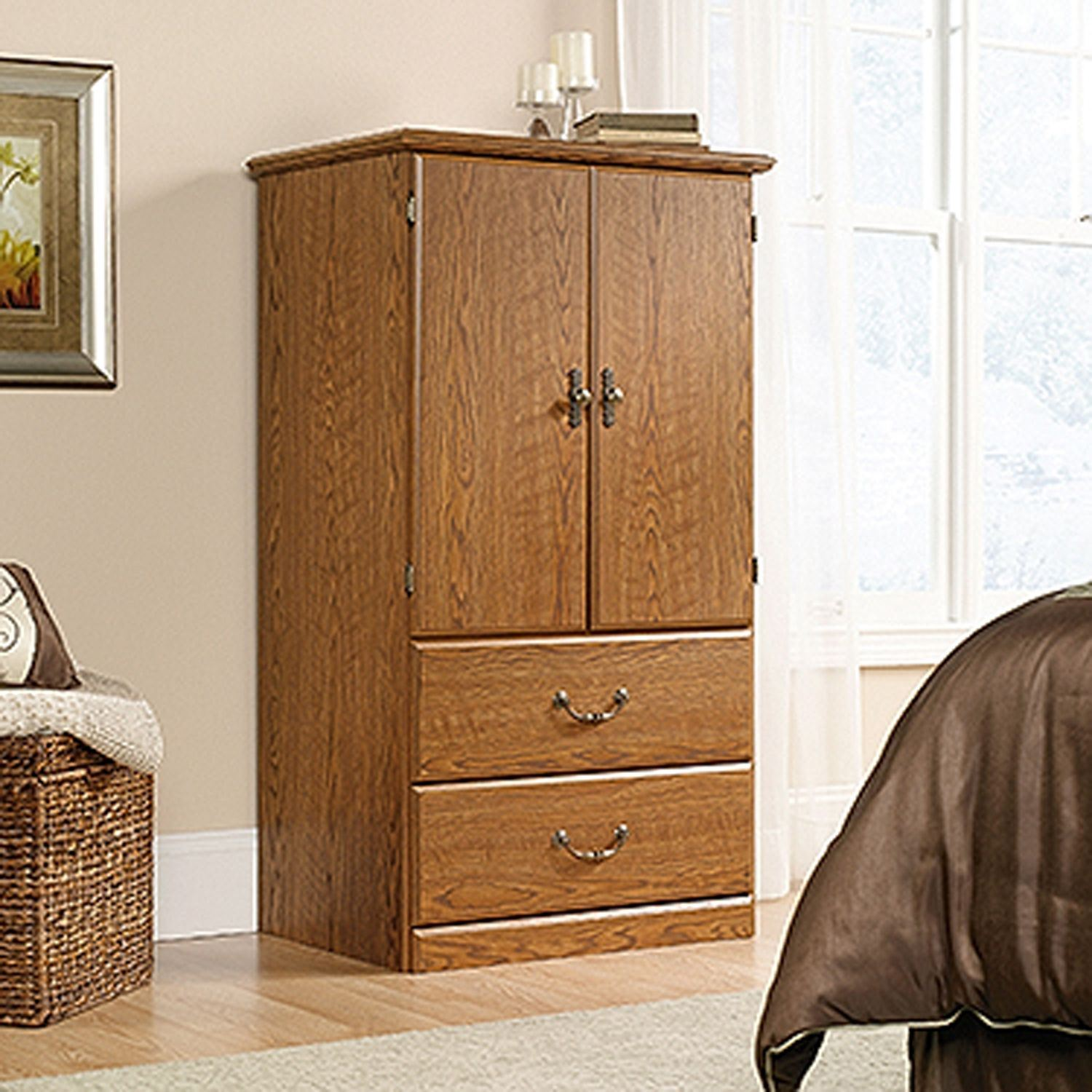 Picture of Orchard Hills Armoire Carolina Oak * D