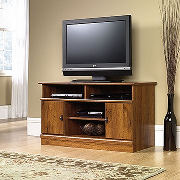 Picture of Harvest Mill Panel Tv Stand Abbey Oak * D