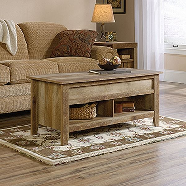Picture of Dakota Pass Lift-Top Coffee Table Craftsman Oak *
