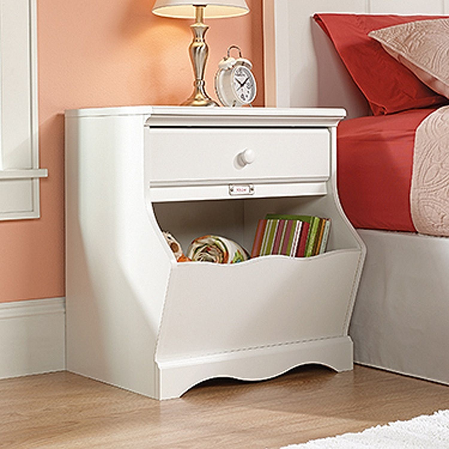 Picture of Pogo Night Stand Soft White * D