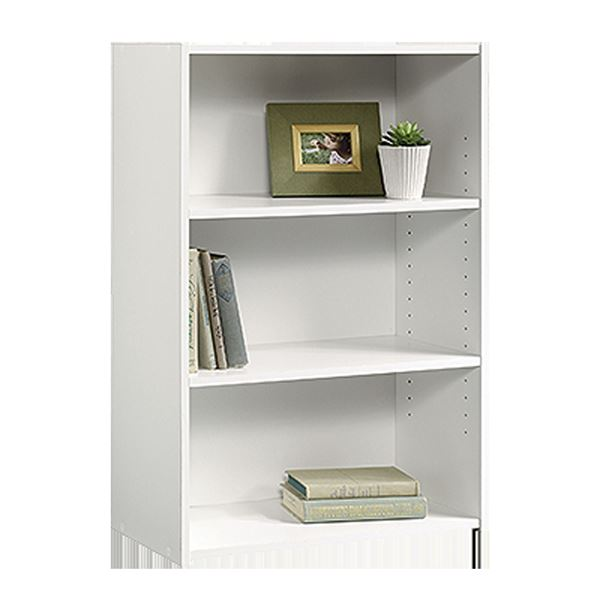 Picture of Beginnings 3-Shelf Bookcase Soft White * D