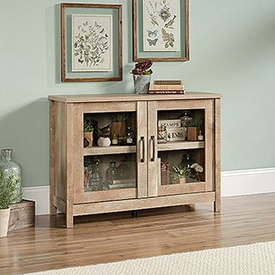 Picture of Cannery Bridge Display Cabinet Lintel Oak * D