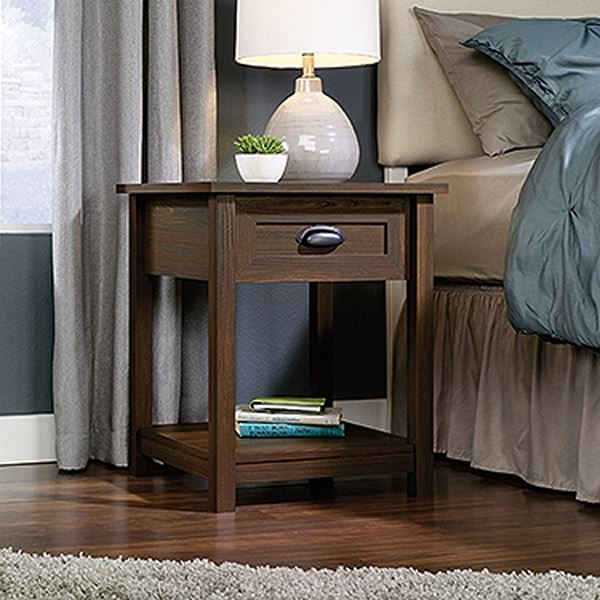 Picture of County Line Night Stand Rum Walnut * D