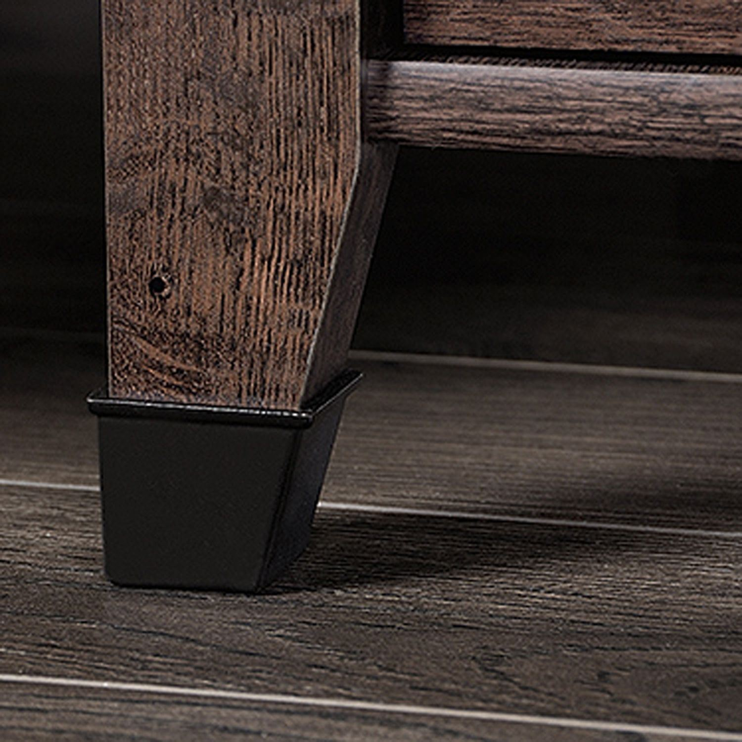 Picture of Carson Forge Side Table Coffee Oak * D