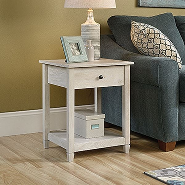 Picture of Edge Water Side Table Chalked Chestnut * D