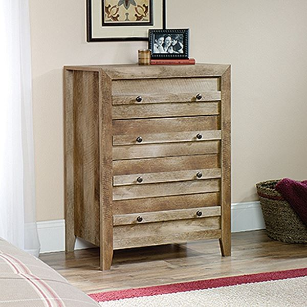 Picture of Dakota Pass 4-Drawer Chest Craftsman Oak * D