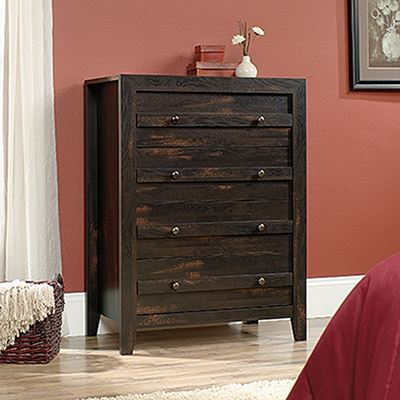 Picture of Dakota Pass 4-Drawer Chest Char Pine * D