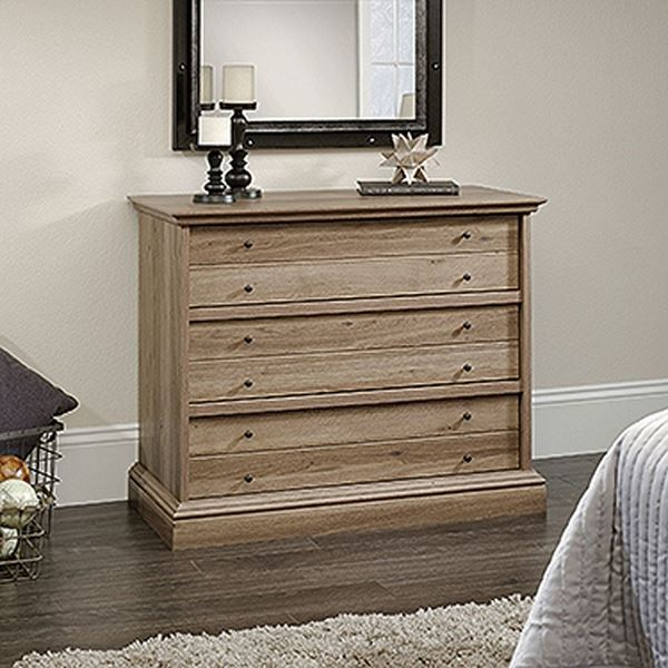 Picture of Barrister Lane 3-Drawer Chest Salt Oak * D