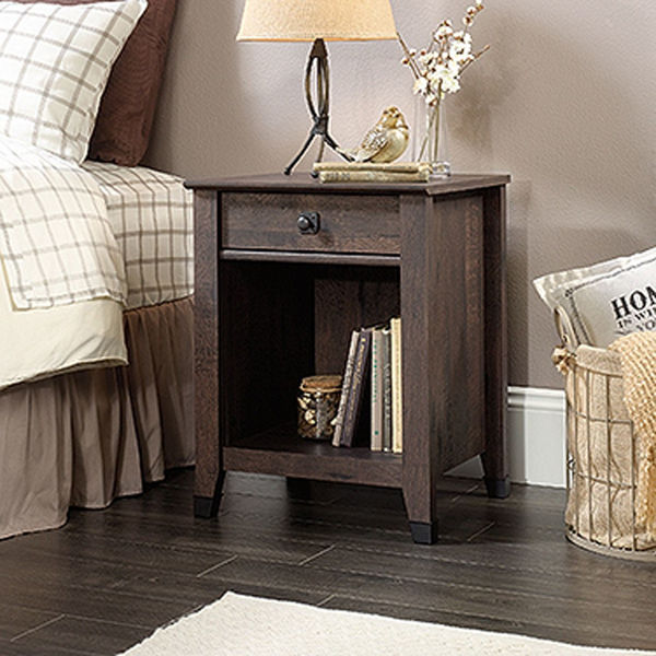 Picture of Carson Forge Night Stand Washington Coffee Oak * D