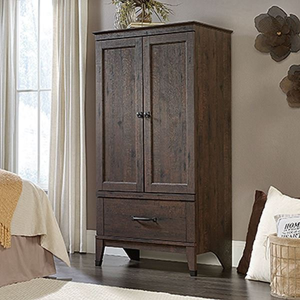 Picture of Carson Forge Armoire Coffee Oak * D