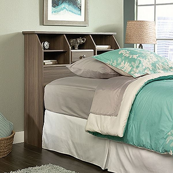 Picture of Shoal Creek Twin Bookcase Headboard Diamond Ash *
