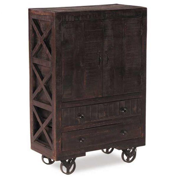 Picture of Vintage Industrial Door Cabinet