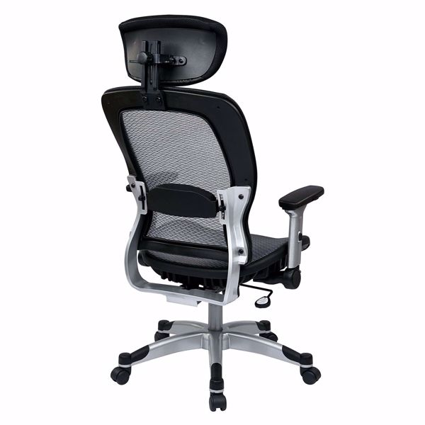 Picture of Light Black AirGrid Office Chair 327-66C61F6HL *D