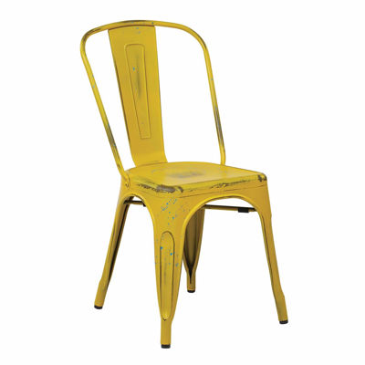 Picture of Bristow Yellow Armless Chair, 2-Pack *D