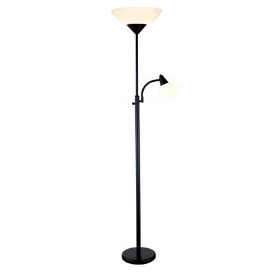 Picture of Black Torchiere Floor Lamp