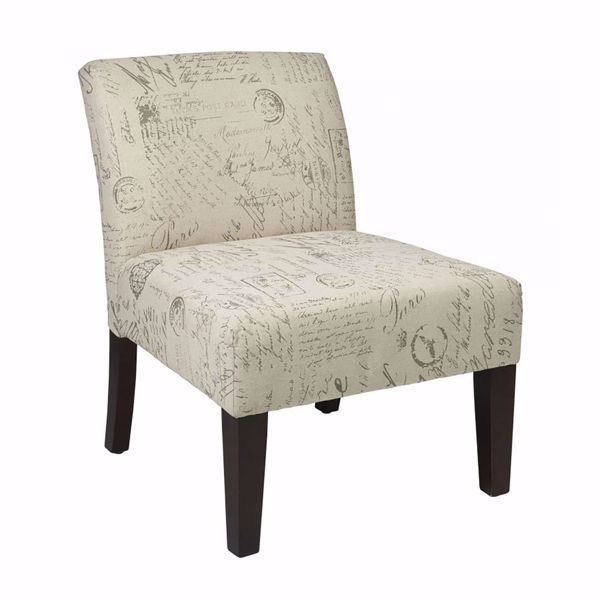 Picture of Laguna Script Fabric Chair *D