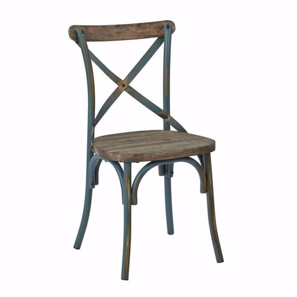 Picture of Somerset Torq X-Back Metal Chair *D