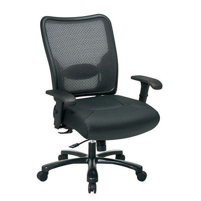 Picture of Air Grid Leather Office Chair *D