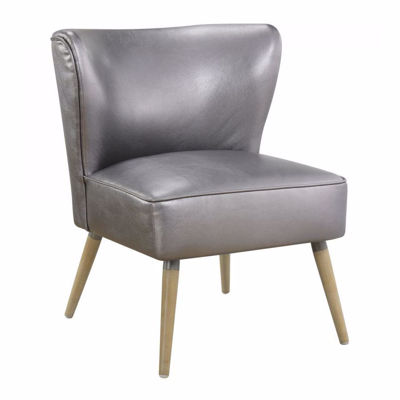 Picture of Pewter Amity Fabric Side Chair *D