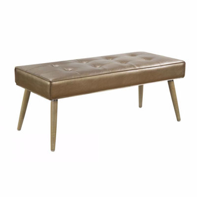 Picture of Copper Amity Fabric Bench *D