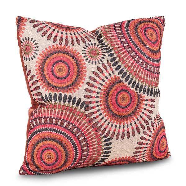Picture of 15x15 Sun Spirit Orange Decorative Pillow *P
