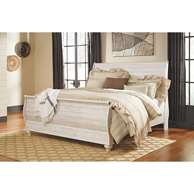 Picture of Willowton King Sleigh Bed