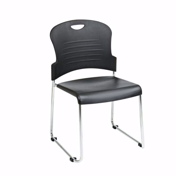 Picture of Black Stack Chair, 2-Pack *D