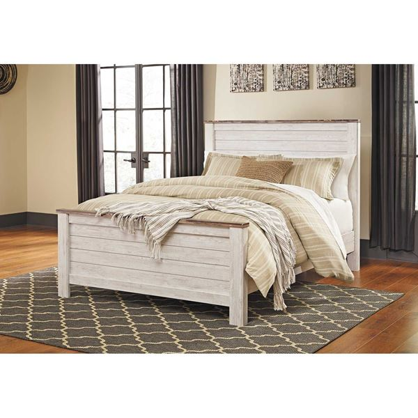 Picture of Willowton Queen Panel Bed