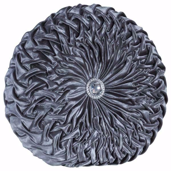Picture of Round Silver Accent Pillow *P