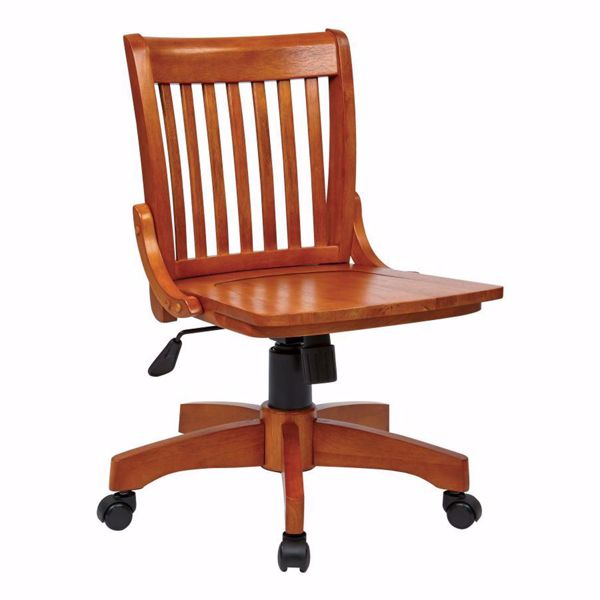 Picture of Armless Fruit Wood Off Chair *D