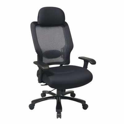 Picture of Black AirGrid Mesh Office Chair 63-37A773HM *D