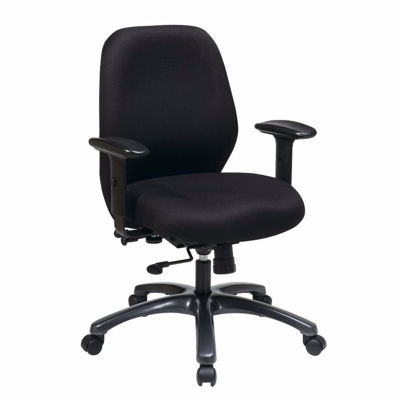 Picture of Black Ergonomic Office Chair 54666-231 *D