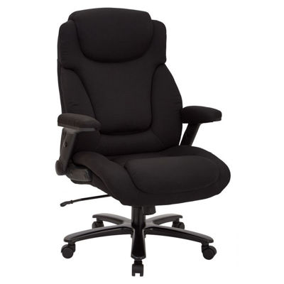 Picture of Black Fabric Office Chair 39203 *D
