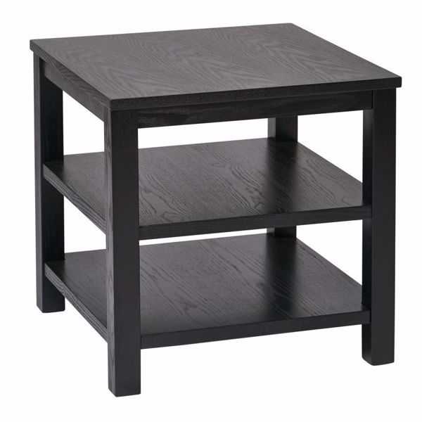 Picture of Black Squareuare End Table *D